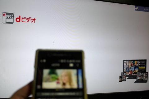 Dビデオをクロームキャストで再生の写真
