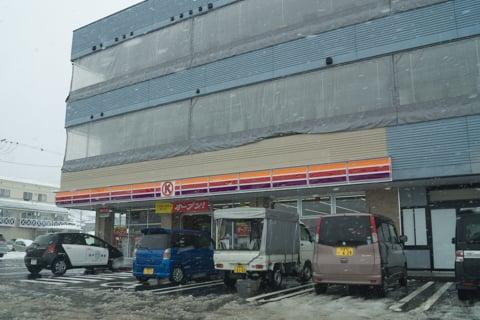サークルK 高山しんぐう店→ファミリーマート高山しんぐう店の写真