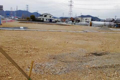 ゲンキー岐関大橋西店の予定地の写真