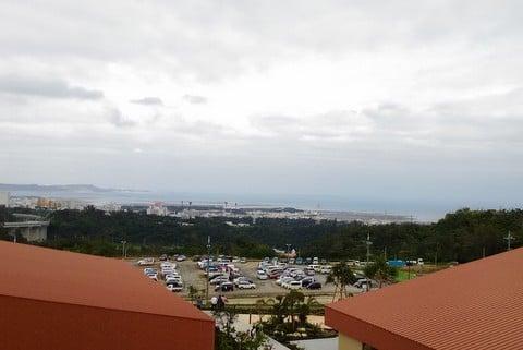 フードコートからの絶景の写真