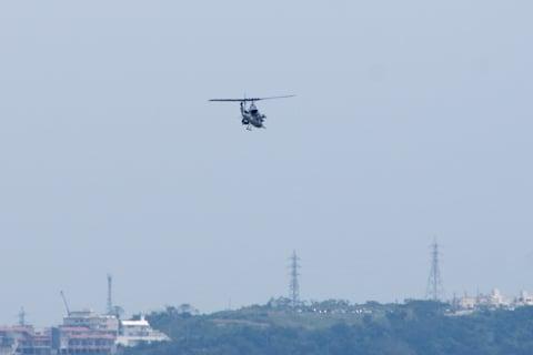 米軍のヘリの写真