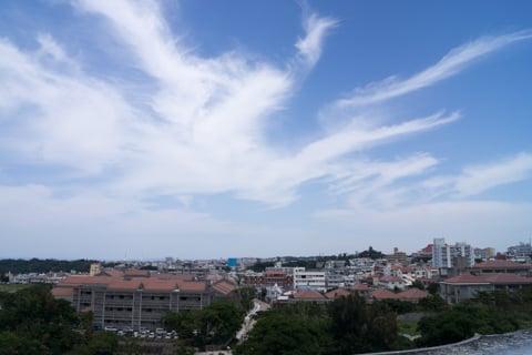 首里城公園からの景色の写真