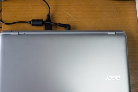 Acer Aspire E11の接続状況の写真