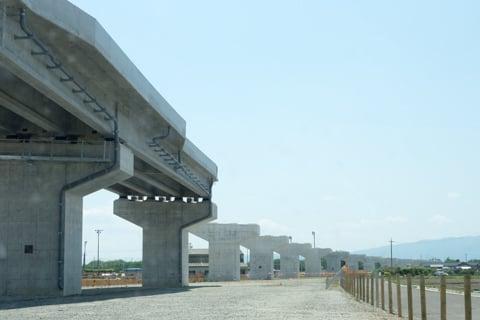 東海環状自動車道の様子の写真
