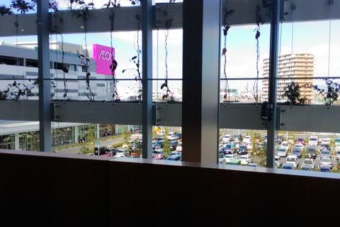 イオンモール堺鉄砲町店のフードコードからの景色の写真