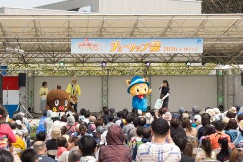 イベント広場の写真