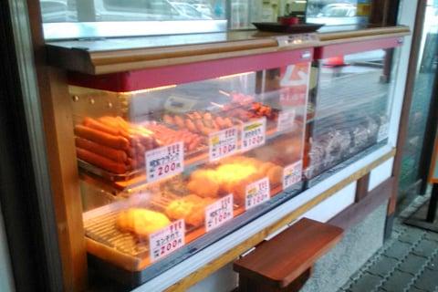 明宝ハムの売店の写真