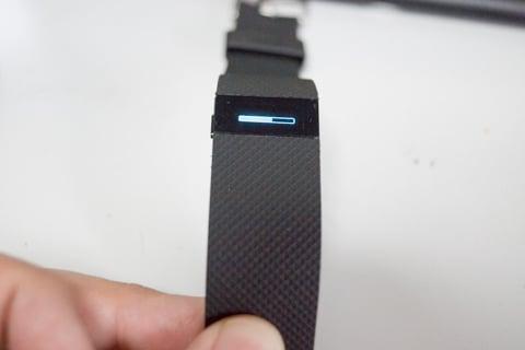 Fitbit chageHRの写真