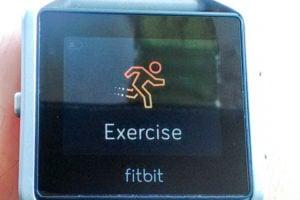 Fitbit Blazeの写真