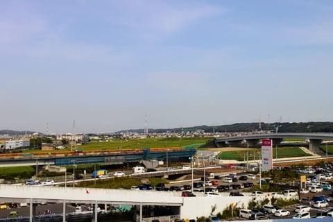 東海環状自動車道の延伸区間の写真