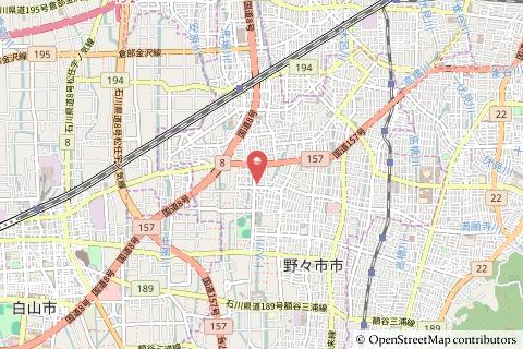 アルビス明倫通り店の地図の写真