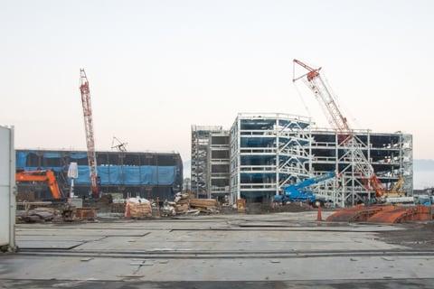 イオンモール松本はA・B・C棟の建設が始まりましたの写真