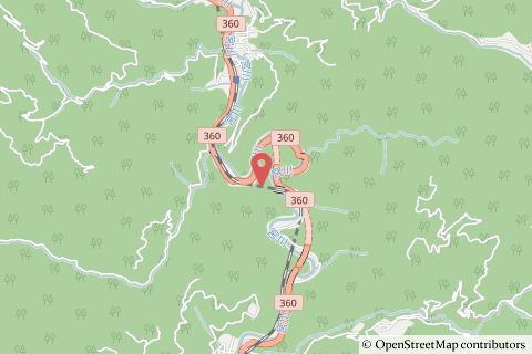 成手トンネルの地図の写真