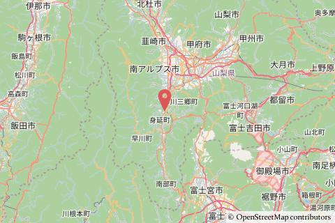六郷ICの地図の写真