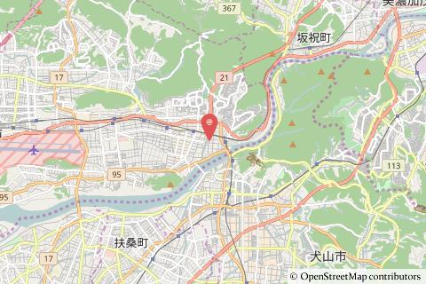 ファミリーマート各務原鵜沼南店の地図の写真