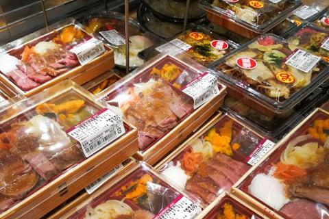 柿安のお弁当の写真