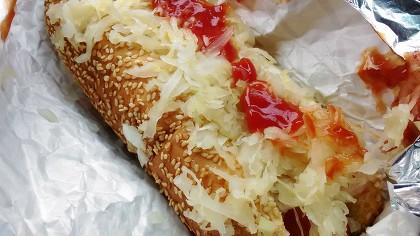 コストコのホットドッグの写真