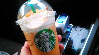 スターバックスコーヒーの新作の写真